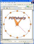 PDFsharp Clock
